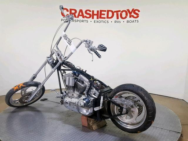 Custom Chrome Old School Bobber for Sale