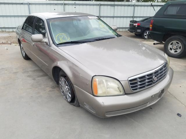 used car cadillac deville 2003 beige for sale in corpus christi tx online auction 1g6ke57y73u136113 ridesafely
