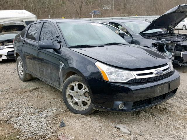 2008 Ford Focus For Sale >> Salvage Car Ford Focus 2008 Black For Sale In Hurricane Wv