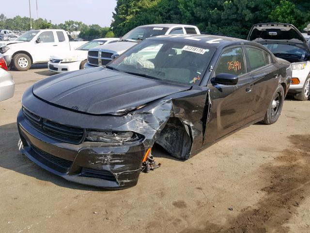 Police Charger For Sale >> Salvage Car Dodge Charger 2017 Black For Sale In Dunn Nc Online