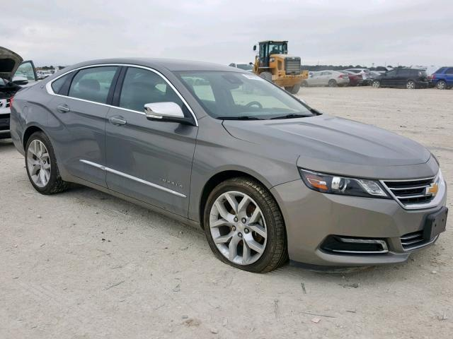Salvage Car Chevrolet Impala 2017 Gray for sale in NEW