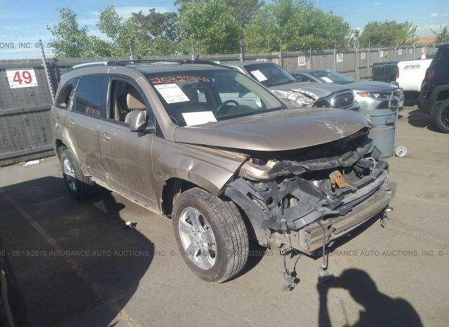 Car Auctions In Nc >> Salvage Car Suzuki Xl 7 2007 Gold For Sale In Commerce City