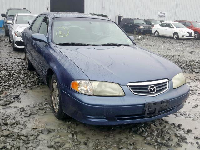 salvage car mazda 626 2001 blue for sale in york haven pa online auction 1yvgf22c915252439 ridesafely