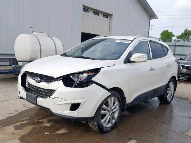 Auto Salvage Des Moines >> Salvage Car Hyundai Tucson 2010 White For Sale In Des Moines