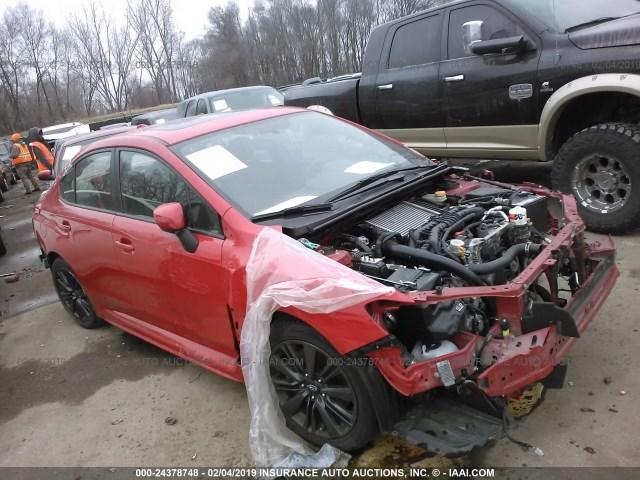 Subaru Kansas City >> Salvage Car Subaru Wrx 2015 Red For Sale In Kansas City Ks Online