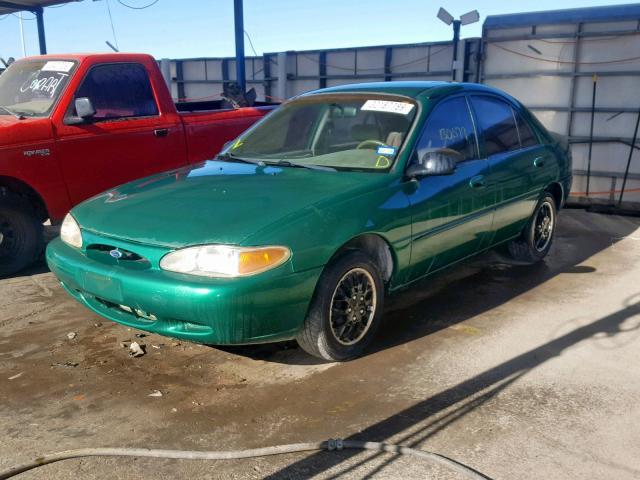Escorts El Paso Tx >> Used Car Ford Escort 2002 Green For Sale In El Paso Tx