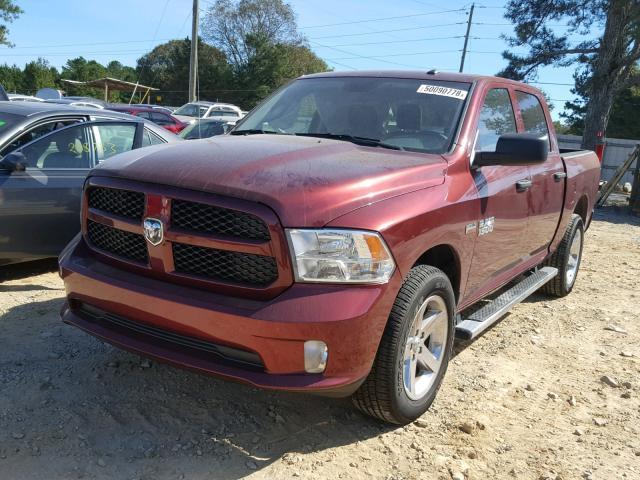 Salvage Car Ram 1500 2017 Burgundy for sale in LOGANVILLE GA