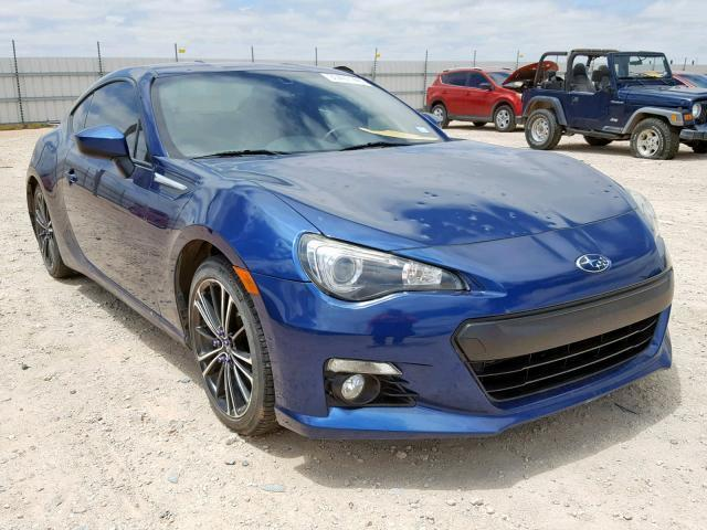 2013 Subaru Brz For Sale >> Used Car Subaru Brz 2013 Blue For Sale In Andrews Tx Online Auction