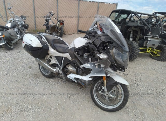 Salvage Motorcycle Bmw R1200rt 2017 White For Sale In Online Tx