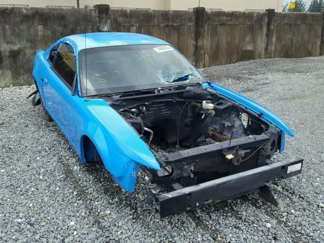 Salvage Car Ford Mustang 2003 Blue for sale in MIAMI FL online