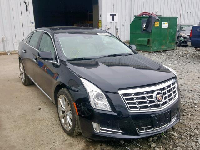 Salvage Car Cadillac Xts 2013 Black for sale in WINDSOR NJ