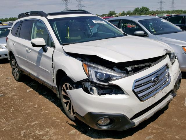 2015 Subaru Outback For Sale >> Salvage Car Subaru Outback 2015 White For Sale In Elgin Il