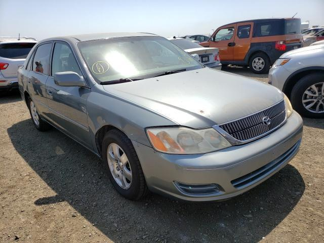 salvage car toyota avalon 2000 green for sale in san diego ca online auction 4t1bf28b6yu071065 ridesafely
