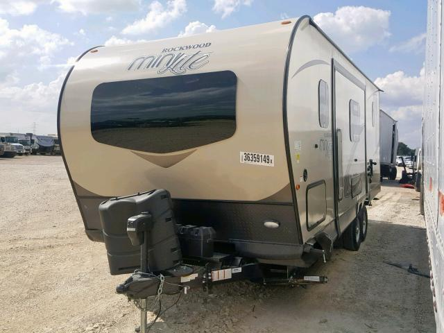 Salvage RV Forest River Rockwood Lite Weight Trailers 2019