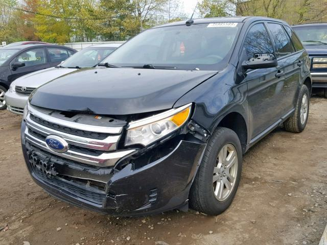 2011 Ford Edge For Sale >> Salvage Car Ford Edge 2011 Black For Sale In North Billerica