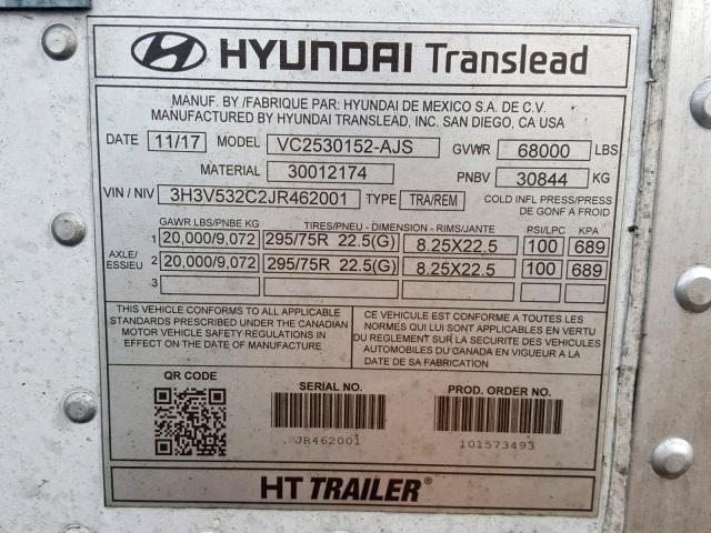 Hyundai Trailer for Sale