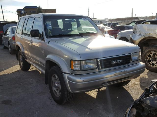 Auction Ended Salvage Car Isuzu Trooper 1997 Tan Is Sold In North