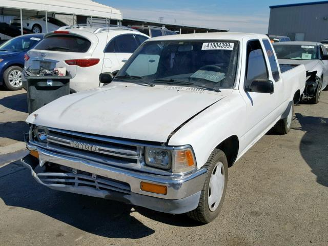 Salvage Car Toyota Pickup 1989 White for sale in FRESNO CA