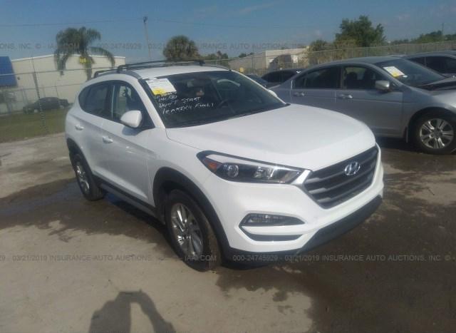 Tucson Car Auction >> Salvage Car Hyundai Tucson 2018 White For Sale In Orlando Fl Online