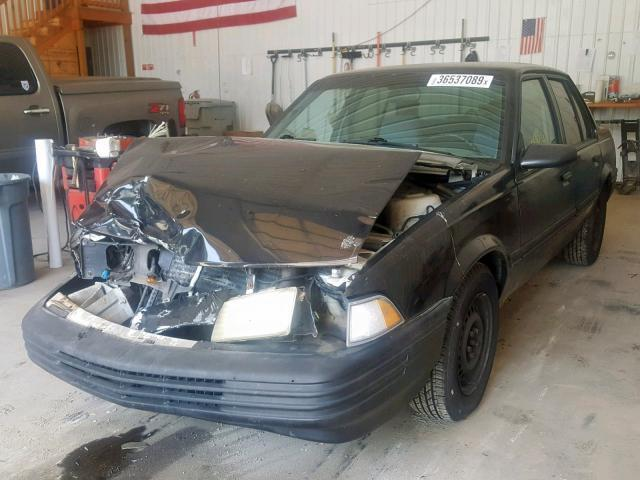 Salvage Car Chevrolet Cavalier 1994 Black For Sale In