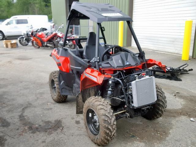 Polaris Ace For Sale >> Salvage Motorcycle Polaris Ace 500 2018 Red For Sale In