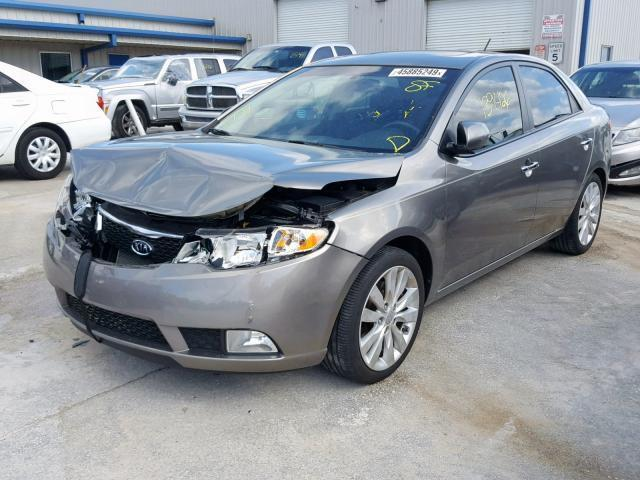 Kia Fort Pierce >> Salvage Car Kia Forte 2011 Gray For Sale In Fort Pierce Fl