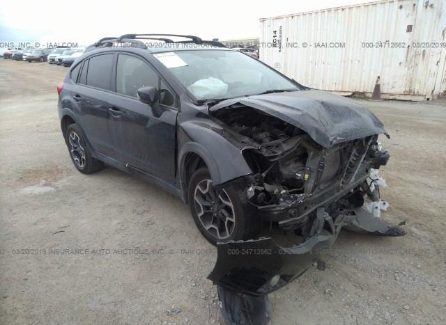 Salvage Car Subaru Xv Crosstrek 2016 Black for sale in