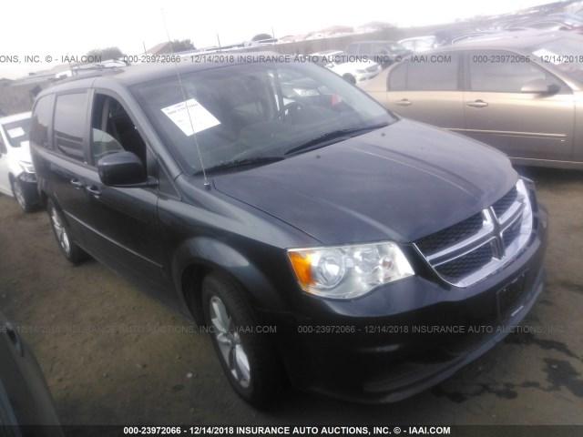 Salvage Car Dodge Grand Caravan 2014 Dark Blue For Sale In Phoenix