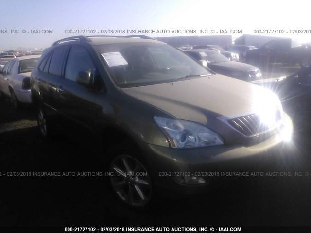 Salvage Car Lexus Rx 350 2008 Green For Sale In Phoenix Az Online