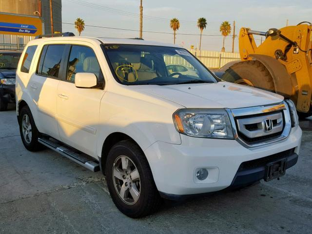 2010 Honda Pilot For Sale >> Salvage Car Honda Pilot 2010 White For Sale In Wilmington Ca Online