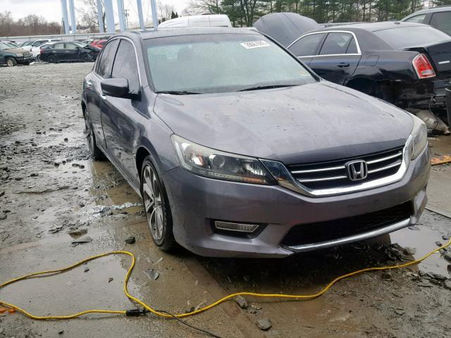 2013 Honda Accord Sport For Sale >> Salvage Car Honda Accord 2013 Gray For Sale In Windsor Nj Online