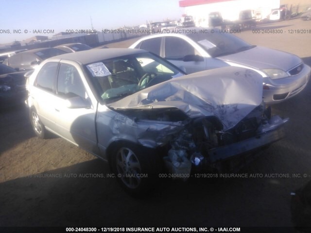 Salvage Car Toyota Camry 2000 Gray For Sale In Phoenix Az Online