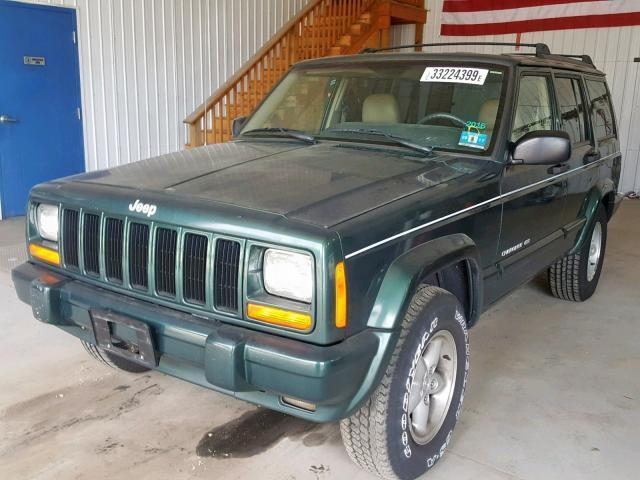Used Car Jeep Cherokee 1999 Green for sale in SEAFORD DE