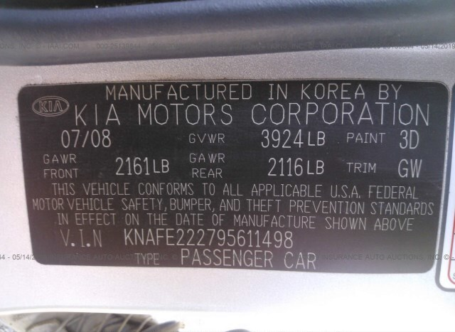 Kia Spectra for Sale