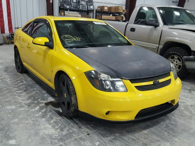 Salvage Car Chevrolet Cobalt 2007 Yellow For Sale In Alorton