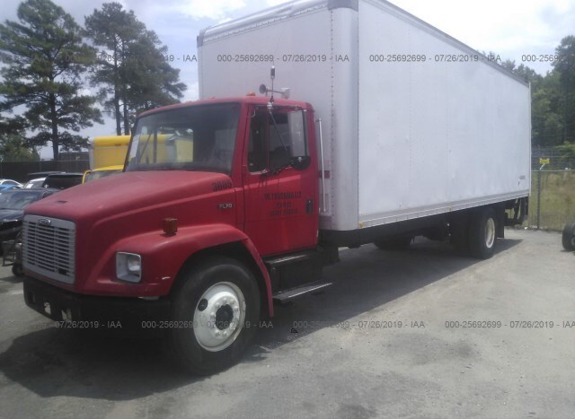 Used Truck Freightliner Fl70 2004 Red for sale in Columbia