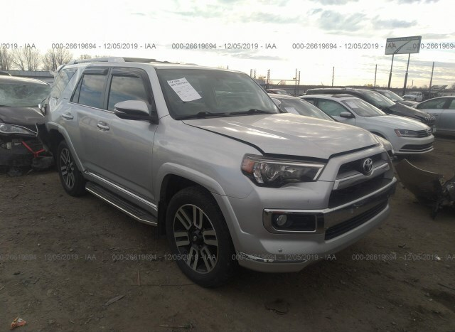 2014 4runner For Sale >> Salvage Car Toyota 4runner 2014 Silver For Sale In Scott Ar