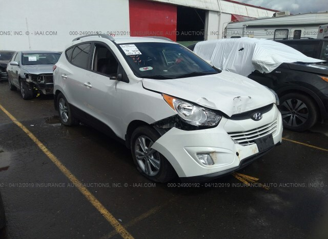 Tucson Car Auction >> Salvage Car Hyundai Tucson 2013 White For Sale In Portland