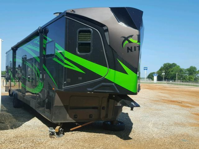 Salvage RV Forest River Xlr Toy Hauler 2018 Green for sale ...