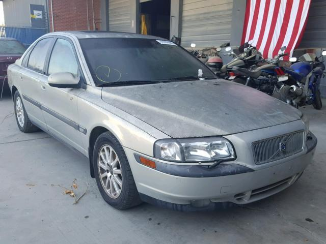 Salvage Car Volvo S80 1999 Gold For Sale In Hayward Ca