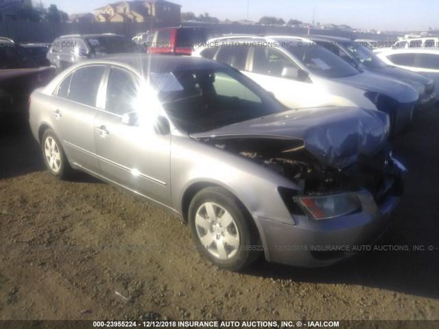 Salvage Car Hyundai Sonata 2007 Silver For Sale In Phoenix Az Online