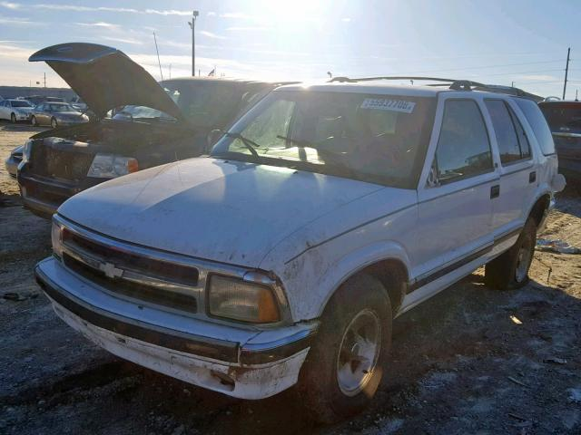 Salvage Car Chevrolet Blazer 1996 White For Sale In Tifton Ga Online
