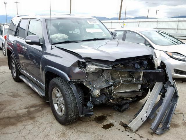 2013 Toyota 4runner For Sale >> Salvage Car Toyota 4runner 2013 Charcoal For Sale In North