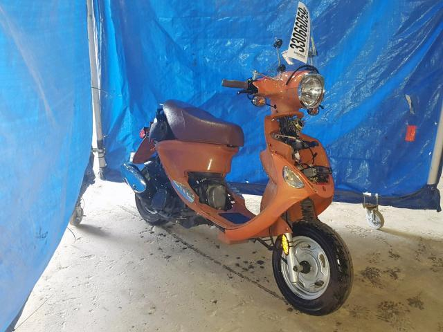 Salvage Motorcycle Genuine Scooters Buddy125 2007 Orange for
