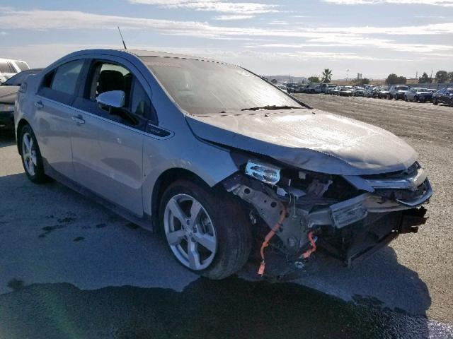 Used Chevy Volt For Sale >> Used Car Chevrolet Volt 2013 Gray For Sale In Martinez Ca