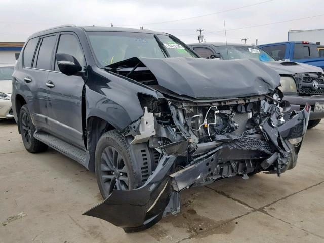 Salvage Car Lexus Gx 460 2017 Black for sale in GRAND