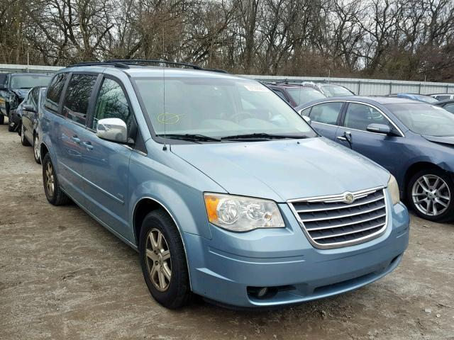 Used Car Chrysler Town And Country 2008 Blue For Sale In Glassboro