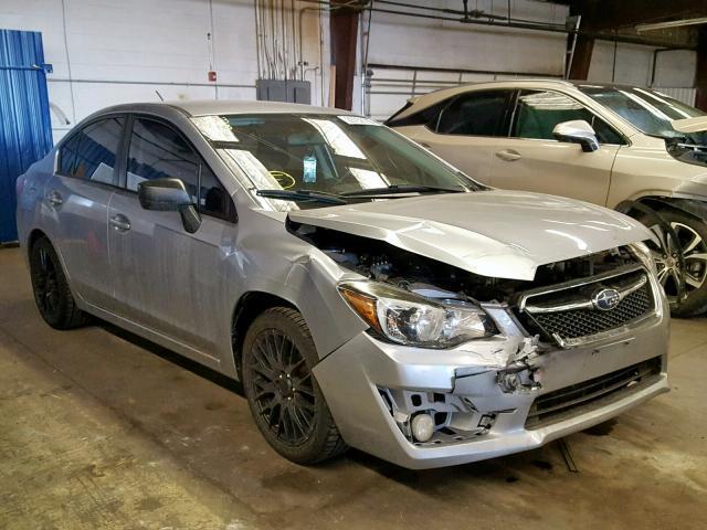 2015 Sti For Sale >> Salvage Car Subaru Impreza 2015 Silver For Sale In Denver Co