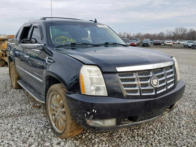 Salvage Car Cadillac Escalade Ext 2007 Black for sale in