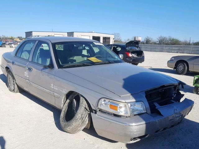 Salvage Car Mercury Grand Marquis 2008 Silver for sale in